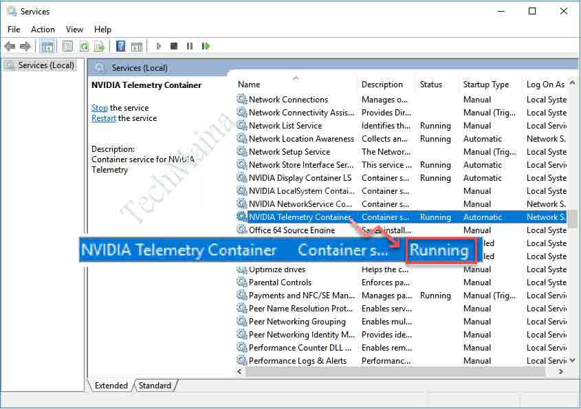 NVIDIA Telemetry Container