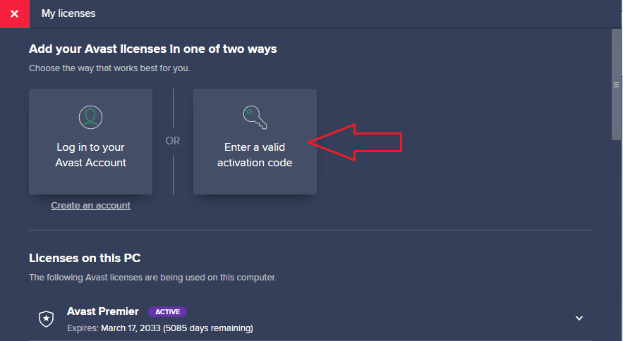 Activate Avast Antivirus with Avast Premier Activation Code