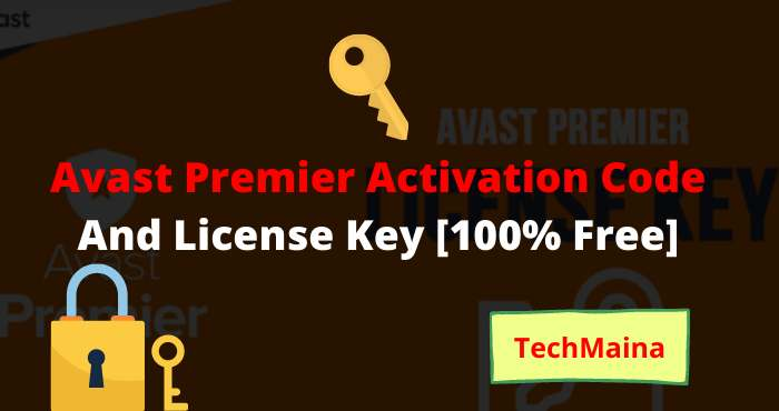 Avast Premier Activation Code And License Key [Free]