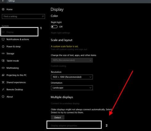 Check VRAM Via Windows Settings