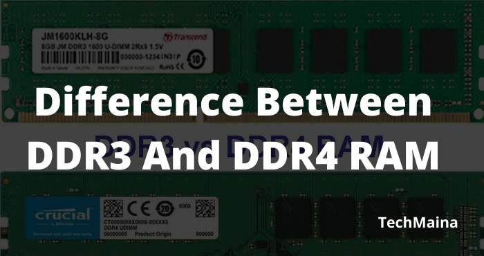 DDR3 vs DDR4 Difference Between DDR3 and DDR4 RAM