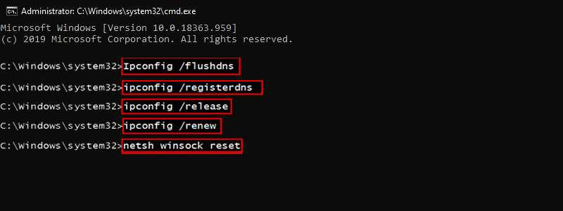 DNS Server Is Not Responding fix with Reset DNS Settings