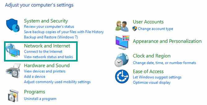 DNS Server Is Not Responding fix with Use the Diagnose Feature in Control Panel