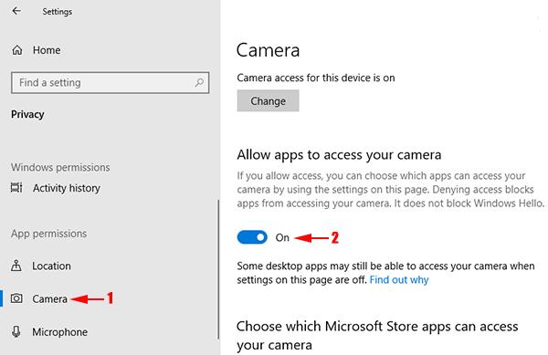 logitech webcam not working in windows