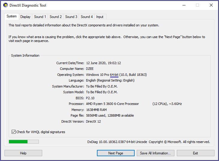Check Windows Version Used (32-bit or 64-bit)
