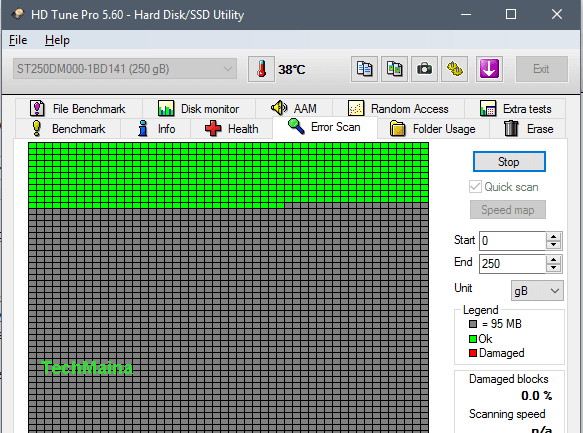 Fix 100% Disk Usage In Windows 10 with Check Your Hard Drive