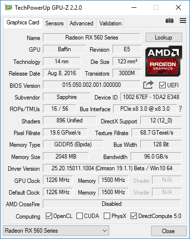Checking the AMD VGA Type