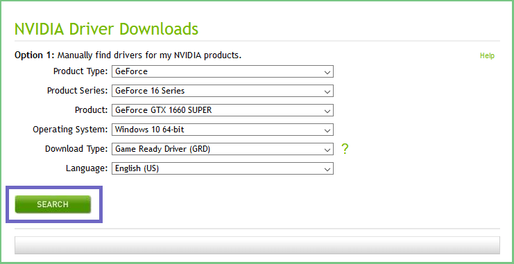 How to Find NVIDIA Drivers Through the Official Site