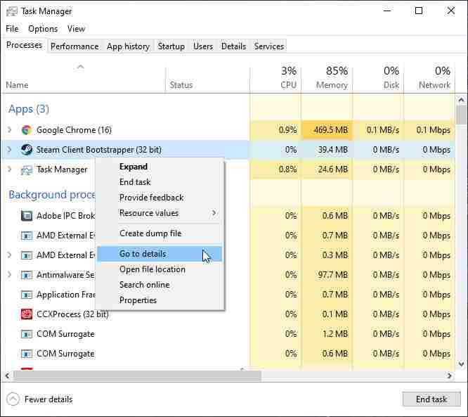 Optimize Steam Software