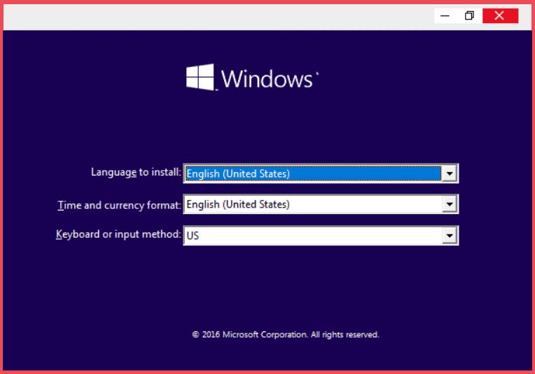 Error Loading Operating System