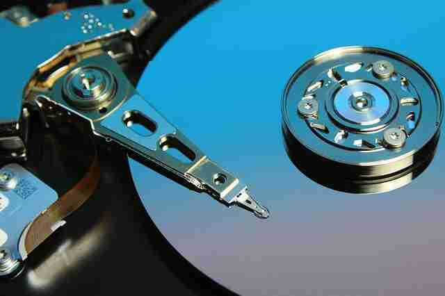 Remove the hard drive