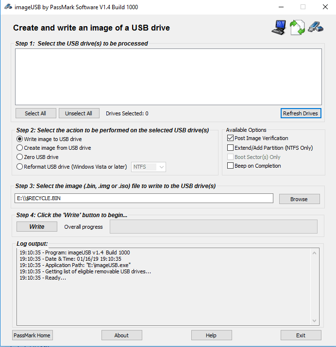 Run Memtest86 to Check RAM Error Code 0x80070570