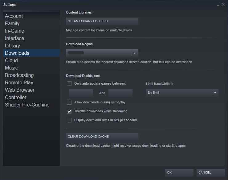 Steam Download Slow? Don't Worry! Here's The Solution!