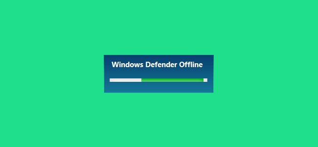 Using Windows Defender Offline Beta Version