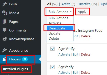 Check Plugins and Templates