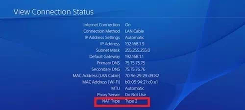 How to Check NAT Type on PS4