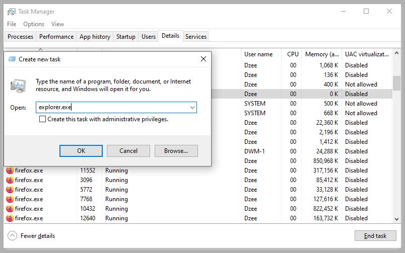 ResetWindows Explorer