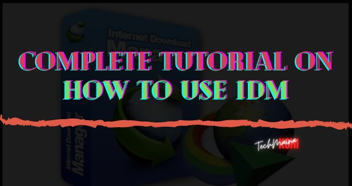 Complete Tutorial On How To Use IDM