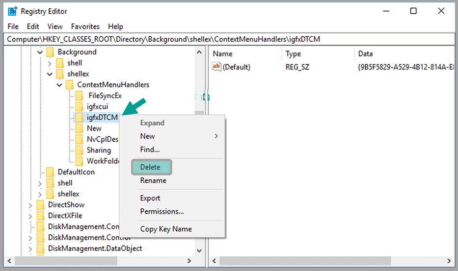 Delete Registry Appropriate VGA Used
