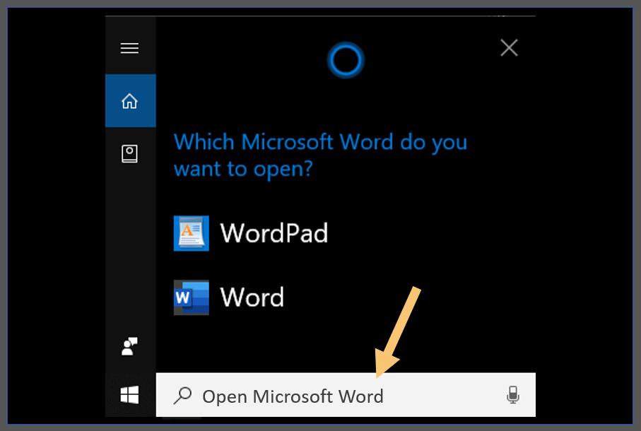 Examples of Hey Cortana's Commands