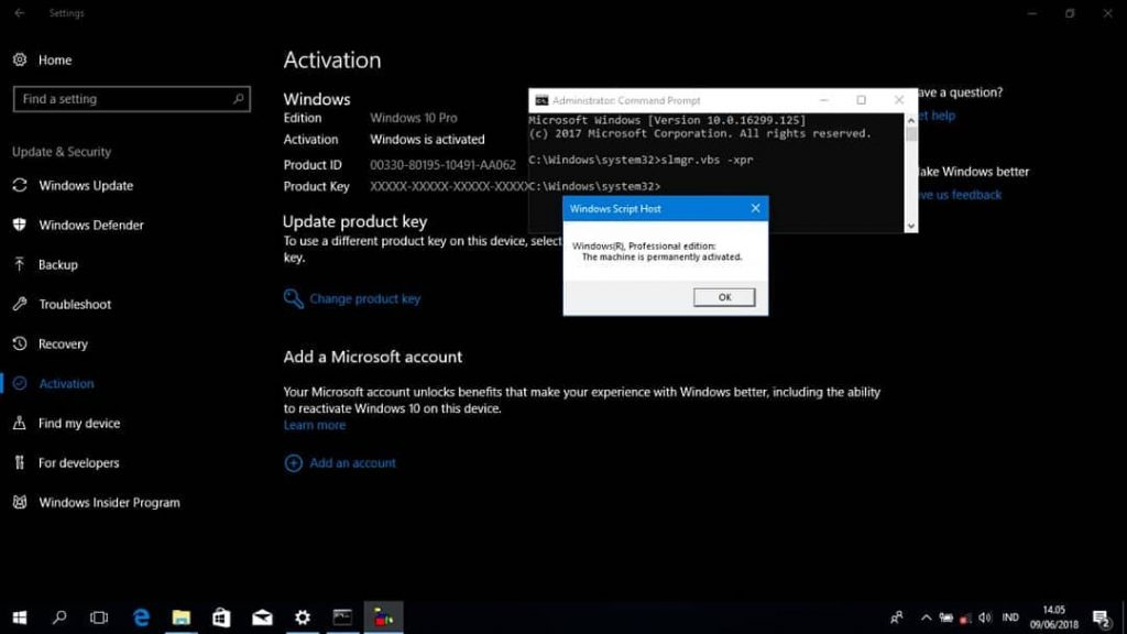 How to Activate Windows 10 Online