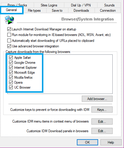 How to Initial IDM Settings