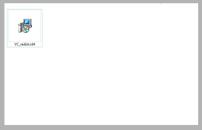 Install Microsoft Visual Credist