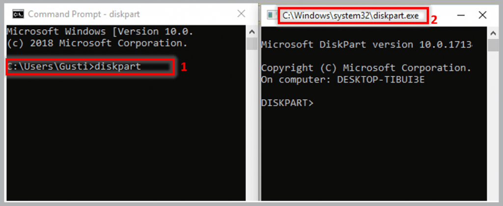 Make a Bootable Flashdisk With Command Prompt