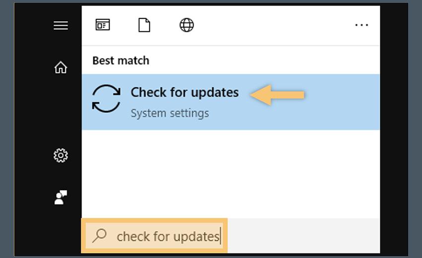 Through Windows Update