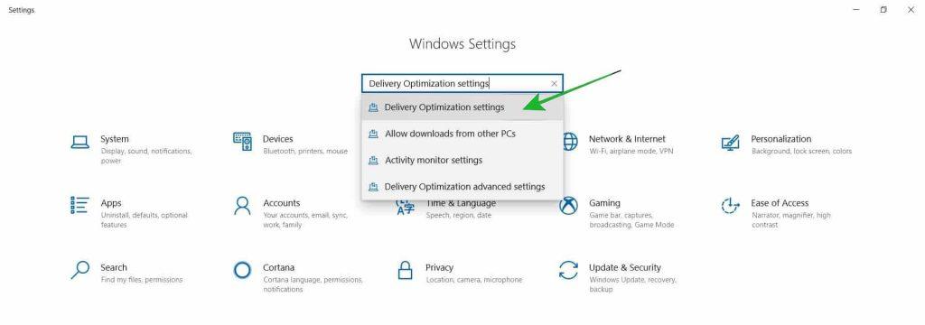 Windows 10 Update With LAN Network