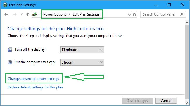 Configure PCI Express Power Management Settings