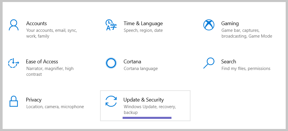 How to Turn on Windows Defender Through Settings