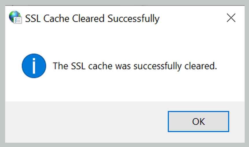 Removing SSL State 5