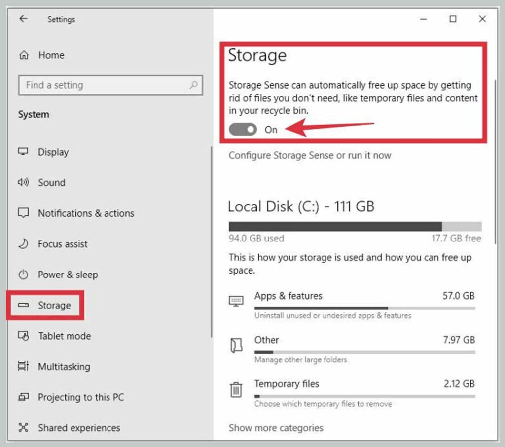 Run Disk Cleanup 1