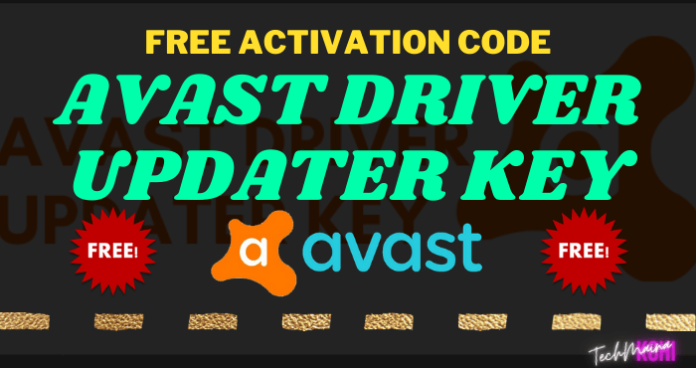 Avast Driver Updater Key FREE Activation Code