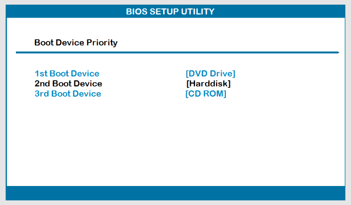 Changing The Boot Priority In The BIOS