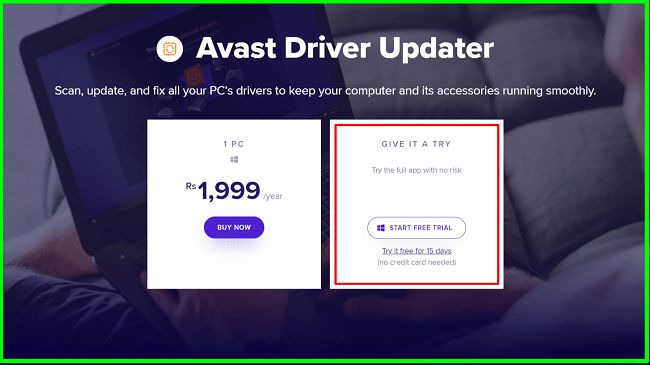Download and activate Avast Driver Updater for free