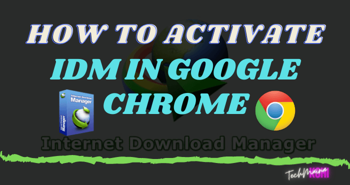 How To Activate IDM In Google Chrome