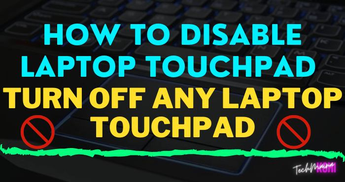 How To Disable Touchpad On Windows 10 [Any Laptop]