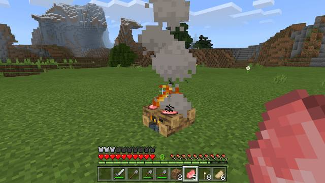 How-To-Make-a-Campfire-in-Minecraft-3