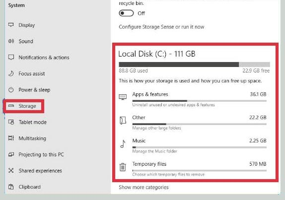 How to Clean Up C Drive In Windows 10 Without an Application