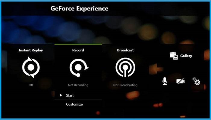 Nvidia GeForce Experience (ShadowPlay)