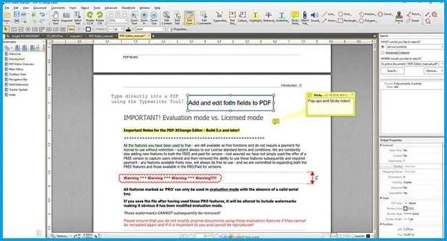 PDF Xchange Editor