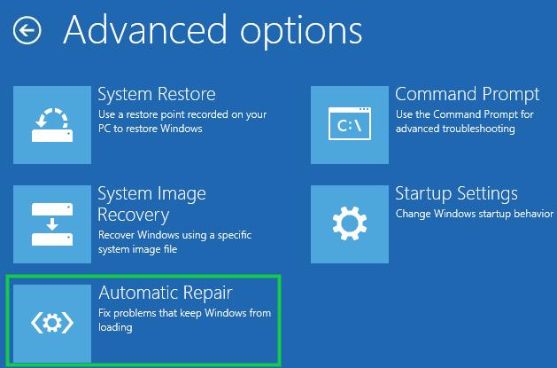 Run Automatic Boot Repair 4
