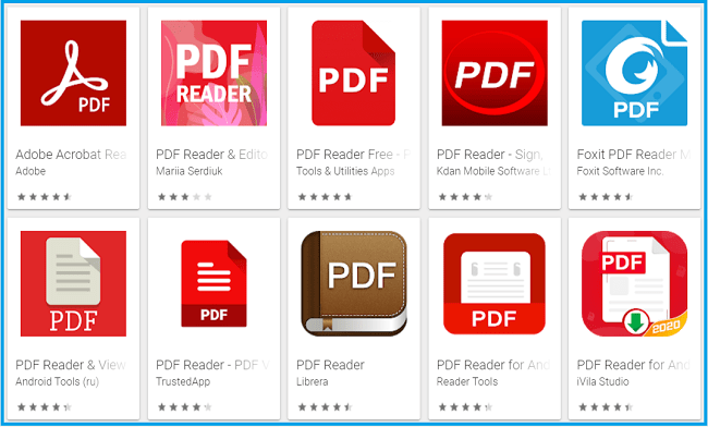 Try Changing Your PDF Reader Application