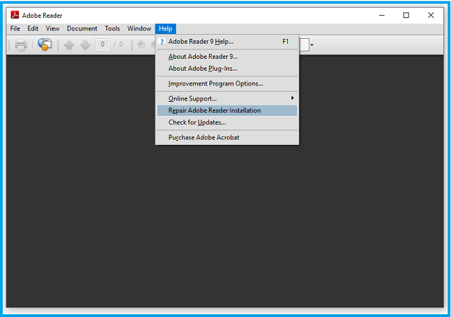 Update your PDF Reader Application