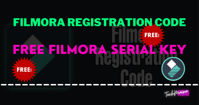 Free Filmora Serial Key And Activation Code