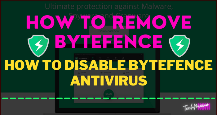 How to Remove ByteFence