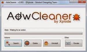 Remove Win32 Malware Gen Using AdWare