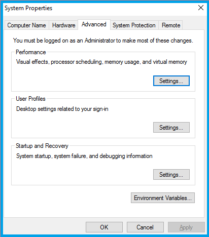 Turn Off All Visual Effects For Your System